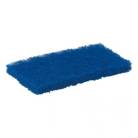 Vikan Hygiene 5524 nylon schuurspons medium,blauw, 125x245x23mm