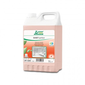 Greencare SANET perfectly sustainable sanitary cleaner and descaler, 5L, 2 pcs / ds