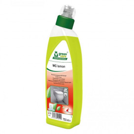 Greencare WC lemon sustainable toilet gel with lemon scent, 750ml, 10pc / ds