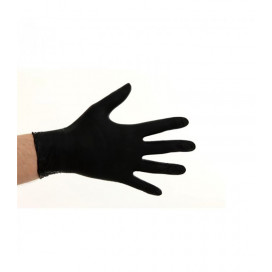 Soft Nitrile Powder Free Gloves Black 100 pieces