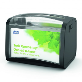 Tork Xpressnap Tabletop, dispenser black Signature Line
