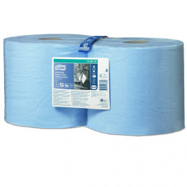 Tork Adv. Wiper 440 Perform. 3Lgs blue 119 mtr x 24 cm pack 2