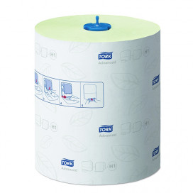 Tork Advanced towel roll 2-ply green 150 mtr x 21 cm box of 6