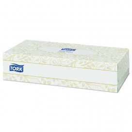 Tork Premium Facial Tissue Extra Soft, 20.8 x 20 cm, box of