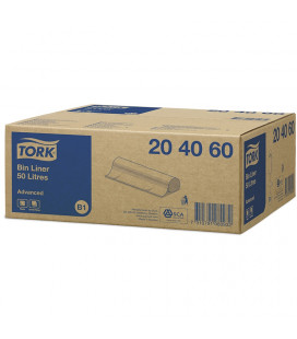 Tork Waste bags 50 L Transparent 250 St.