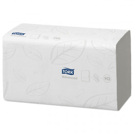 Tork Advanced towel z-fold 2Lgs white 23x23 cm box of 3750 pcs