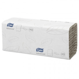 Tork Advanced towel c-fold 2-ply white 25x31 cm box with 1400