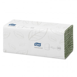 Tork Advanced towel c-fold 2Lgs Green 25x31 cm box à 2400 pcs