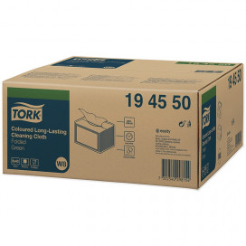 Tork Premium Spec. Cleaning cloth 1-ply green 38x30 cm box of 8