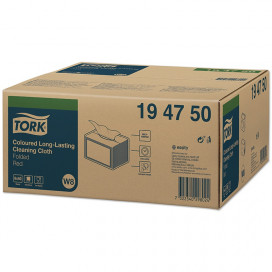 Tork Premium Spec. Cleaning cloth 1-ply red 38x30 cm box of 8