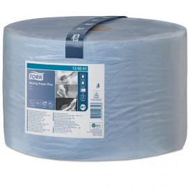 Tork Adv. Wiper 420 Perform. 2-ply blue 510 mtr x 24 cm pack of
