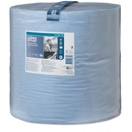 Tork Adv. Wiper 430 Perform. 2-ply blue 340 mtr x 37 cm pack of