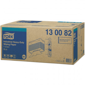 Tork Adv. Wiper 440 Perform. 3-ply blue 39x32 cm box of 500