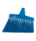 Vikan Hygiene 2914-3 corner broom, blue hard long oblique