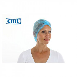 CMT PP Non Woven Hair net Blue 100 pieces