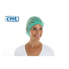 CMT PP non woven hair net Green 100 pieces